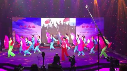 梁老师舞蹈《映山红》枫姿队1547977533258