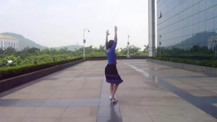 新东方慧影广场舞  蝴蝶爱上花含背面分解