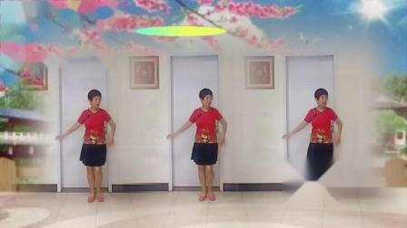 东方女子广场舞《蝴蝶翩翩飞》编舞;青春飞舞
