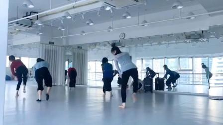 丽人行 最火那段镜面教程 #舞蹈 #丽人行