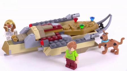 积木砖家乐高LEGO 史酷比木乃伊博物馆