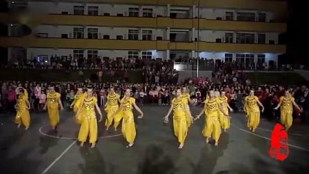 欢乐跳舞吧 印度舞 鹤塘广场舞 新村舞队