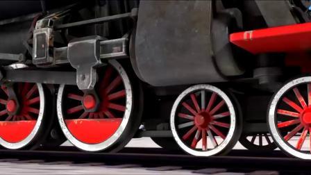 熊出没之雪岭熊风,吉吉开火车 ,刺激之旅开始