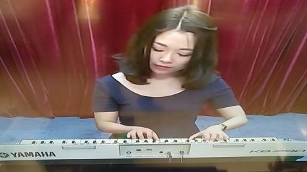 电子琴一级练习曲《我的小金鱼》