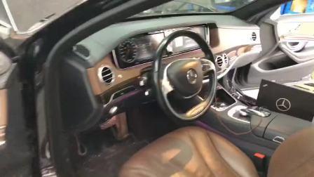 奔驰 S级W222老款改新款多光束 LED大灯编程,专业的人干专业的事,感谢车主支持信任,必须服务到位。