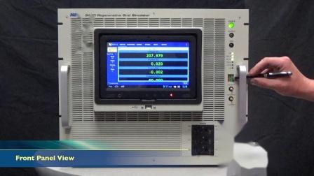 Grid Simulator Model 9410 Overview 1