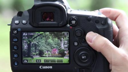 佳能5D4单反操作常识四:测光与对焦的实战演示