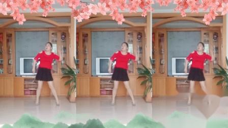 彩虹丹广场舞 姑娘姑娘你真美 动感美舞3人版