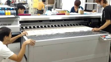 大尺寸棉布噴印機 實際狀況