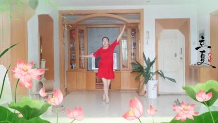 彩虹丹广场舞 爱上一朵花