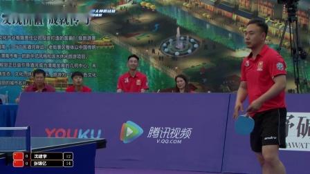 渭南老街杯世界砂板大师赛:沈建宇vs张锦亿