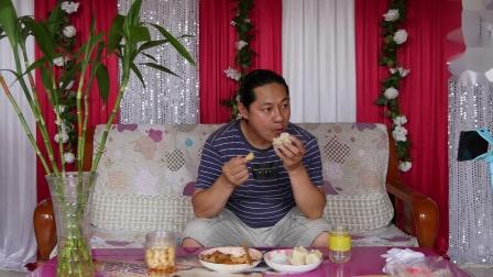 朱坤今天中午简单吃点吧,因为还有点剩菜