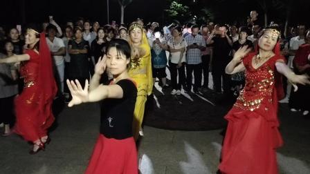 水晶苹果广场舞:  零度桑巴(印度舞)