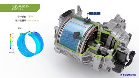 博格华纳三合一电驱动模块-中文版