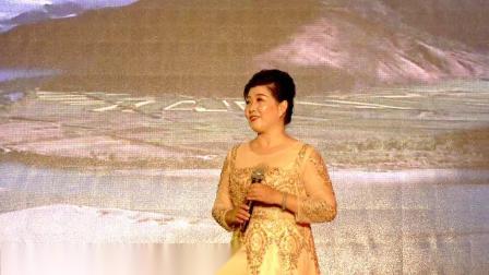 黄骅市第八届欢乐广场刘香芹女士演唱【我爱你中国】