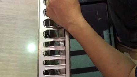 消毒柜调试导轨视频