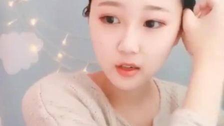 韩国伪娘假髮 cd变装日常男扮女装中长髮梨花头 女装大佬长卷发