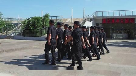 邕江沿岸公园良庆段运营管理中心保安技能培训