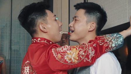 2019.05.25于晋 何茹雪婚礼电影《念念不忘,必有回想》3