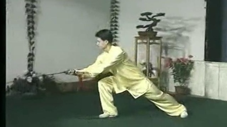42式太极剑 33-42 李德印 陈思坦 带口令演示