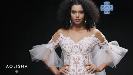 AOLISHA澳利莎婚纱品牌2020SS时尚新品走秀视频