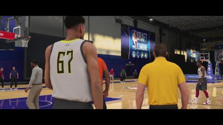 《NBA 2K20》生涯模式宣传片,詹姆斯倾情出演