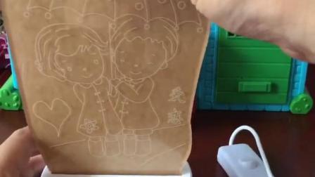 益智幼教宝宝玩具:光头强给小丽买的七夕礼物