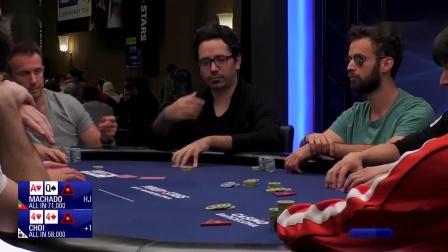 德州扑克:2019EPT巴塞罗那站主赛事Day2_10
