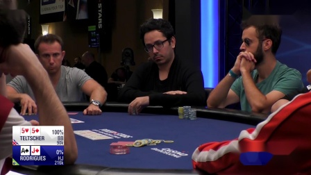 德州扑克:2019EPT巴塞罗那站主赛事Day2_09