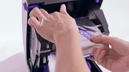 T800 - Loading Ribbon and Media