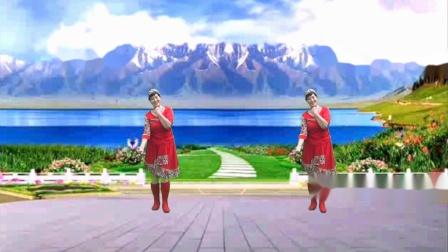 安阳金东姐妹广场舞《最美的歌儿唱给妈妈》藏族舞  编舞:歆舞心悦