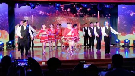 南京小拉舞《吉祥》演出 南京金陵老年大学(华为5G手机拍摄)