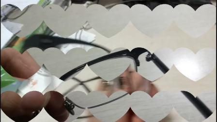 BOLON暴龙眼镜镜圈脱焊了