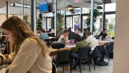 法国TOP15高等商学院蒙彼利埃高等商学院的部分校园