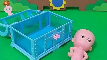 益智育儿幼教宝宝:好大一只虫子呀