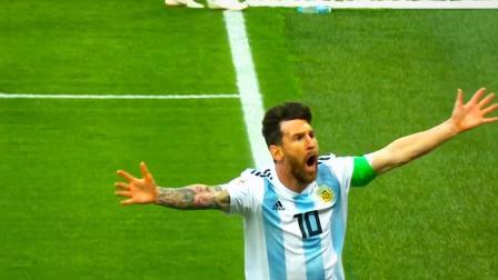 梅西带球过半场,势不可挡无人拦住