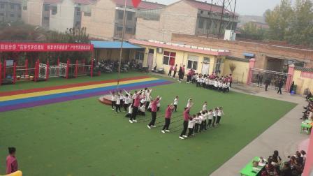 8、新城幼儿园轻纺分园户外竹竿游戏活动:大一班《幸福山歌》