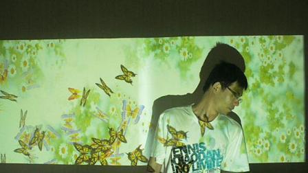 地面投影互动 蝴蝶效果15221974577