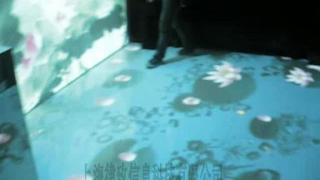 江南风墙面+地面联屏互动15221974577
