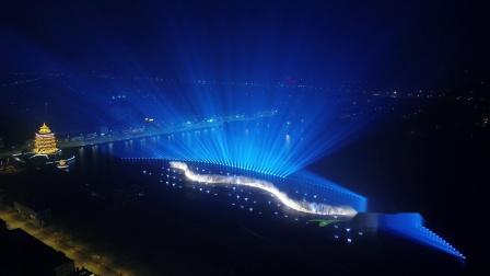 山西太原清徐大型主题光影水秀第一季--《清徐华章》