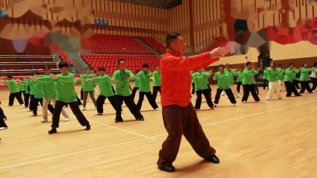 傅清泉传统杨式太极拳教学视频之九