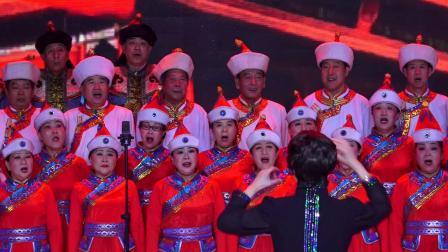 草原情合唱音乐会(15)--混声合唱:红旗飘飘