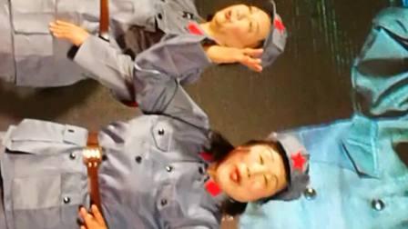 侯春云,白淑珍等人表演唱豫剧红色娘子军选段巜同心踏碎旧世界》