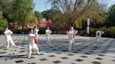 2019年10月4日米泉公园太极拳展示C