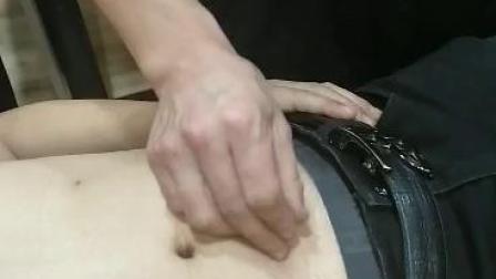 中医针灸针法教学视频-刘吉领新一针治疗肚腹寒凉