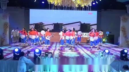 肇州县繁荣社区馨悦艺术团-丰收歌[肇州县体协二零年新年联欢会]