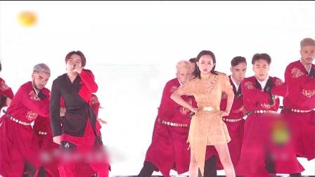钱正昊张钰琪《龙的传人》,中国影响闪耀东方 湖南跨年演唱会 20191231