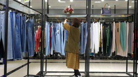 奇尔梦思兰20年春夏郑州品牌女裤 100件小份 码号 27-32