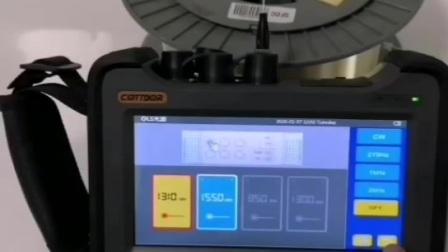 考德CT800黑科技高精度OTDR测试仪