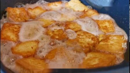 以后豆腐就这样吃,加2个鸡蛋,大锅里一倒,出锅比红烧肉还香!